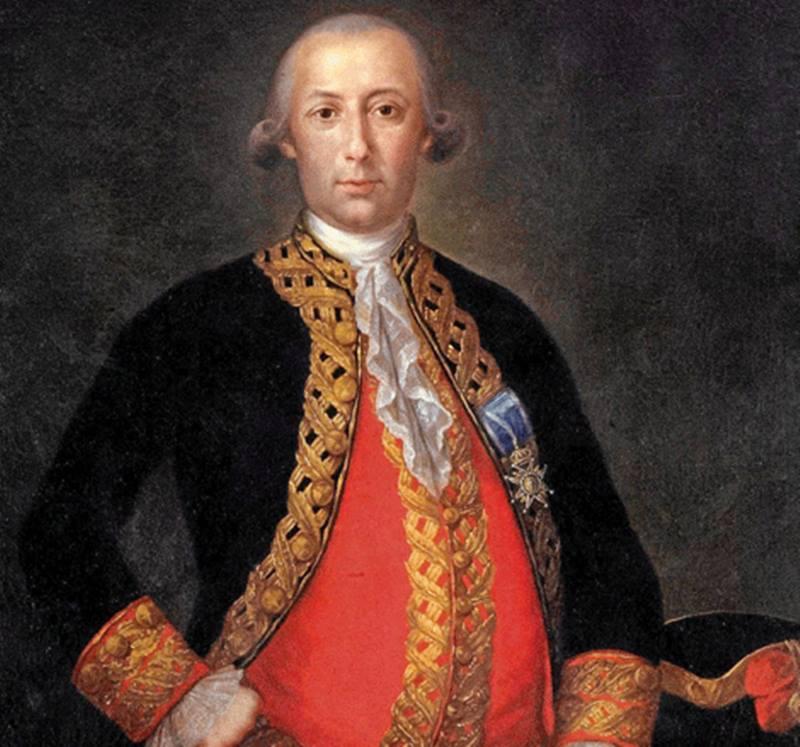 Bernardo de Galvez.
