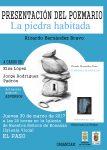 Presentación oficial del poemario 'La piedra habitada', de Ricardo Hernández, este jueves en la Iglesia de Nuestra Señora de Bonanza