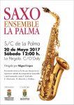 Saxo Ensemble La Palma actúa este sábado en La Pérgola