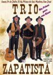 El Trío Zapatista presenta el espectáculo 'Sin prisas pero con risas' en la plaza de Las Madres