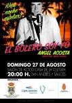 El actor Ángel Acosta lleva  a San Andrés y Sauces la puesta en escena de 'El bolero soy yo'