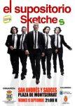 El Supositorio pondrá en escena la obra 'Sketches' este viernes en San Andrés y Sauces