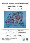 Exposición 'Acuarela do Brasil', de Sebastián Sax, en la Oficina de Turismo de Las Tricias