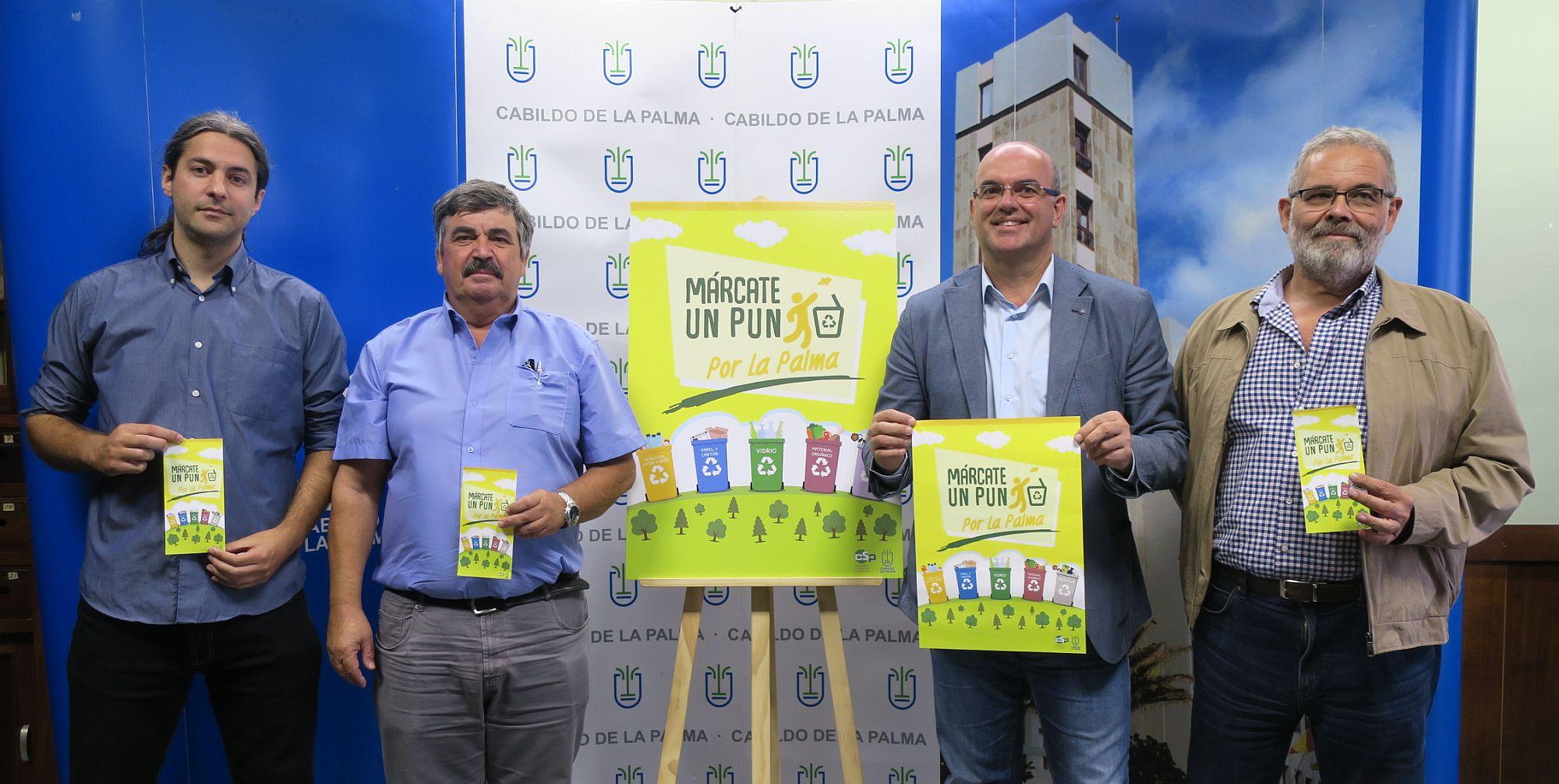Presentación de la Campaña Márcate un Punto por La Palma.