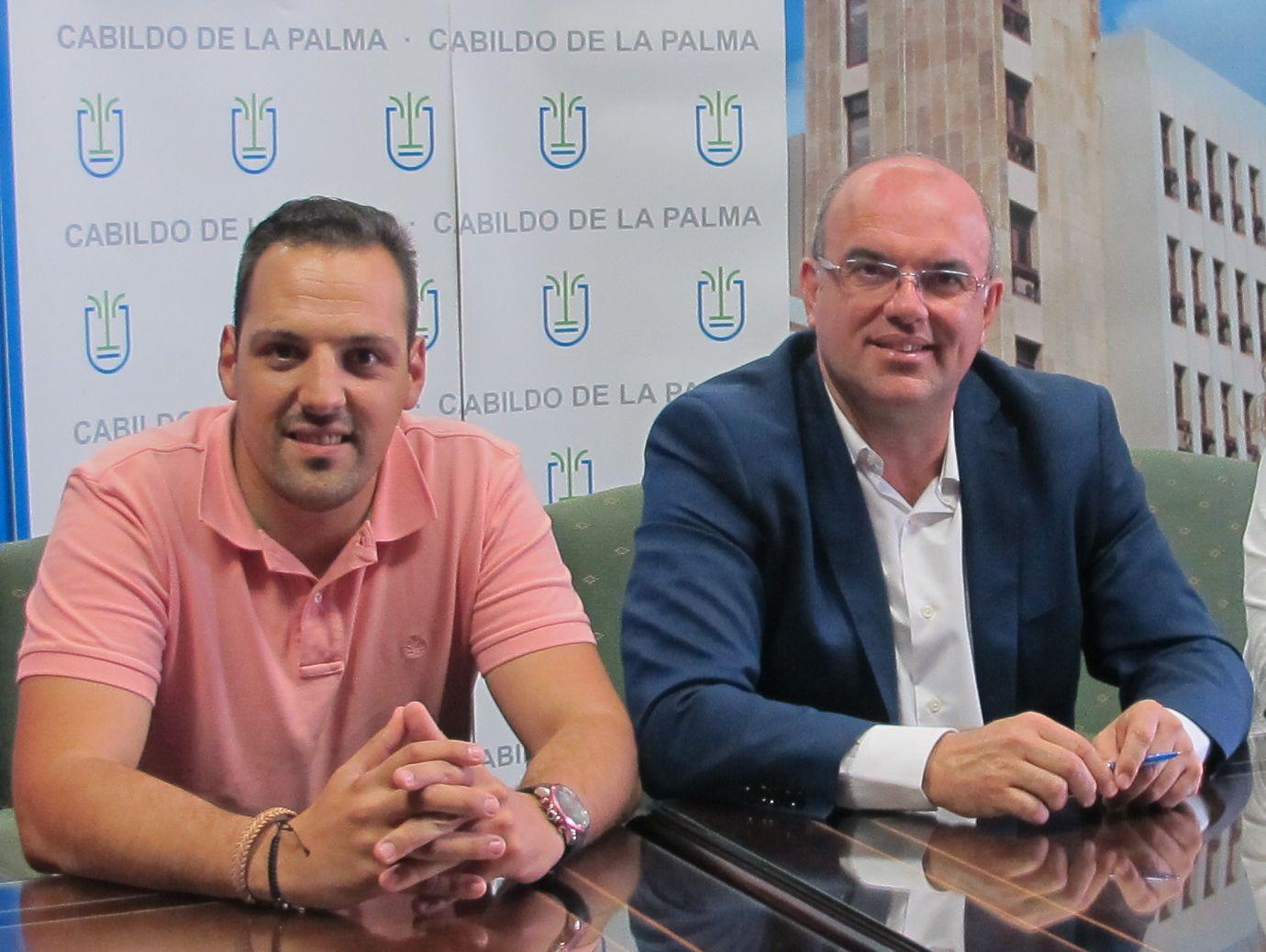 Anselmo Pestana y Jonathan Felipe.