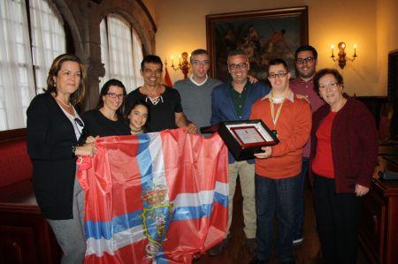 El Ayuntamiento felicita a Jorge Pérez Ferraz, campeón de Canarias de Kárate Adaptado