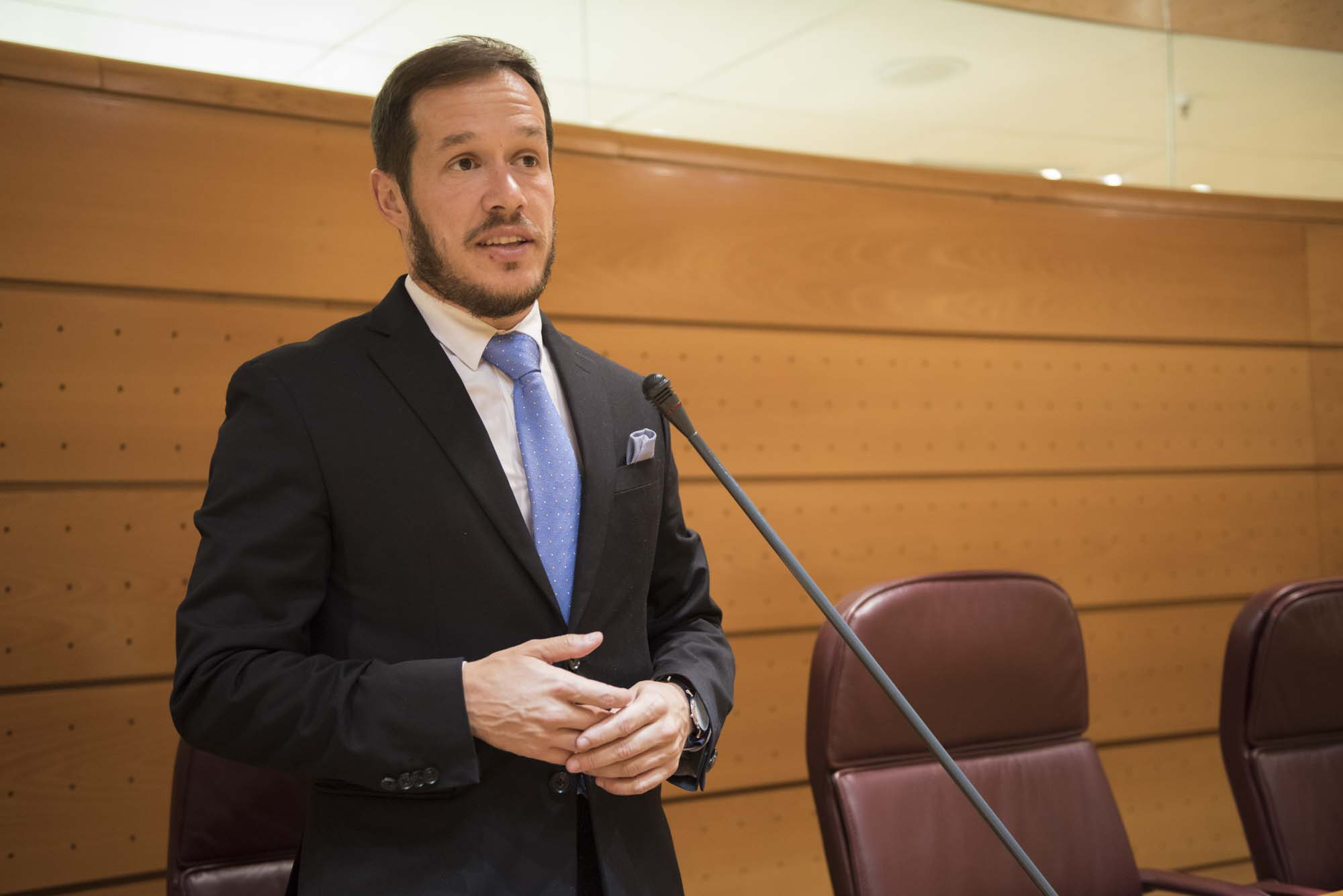 080217-016- Mariano Hernandez Zapata Senado Madrid ©CarlosAciego