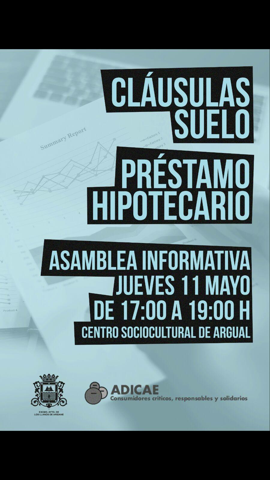 Los llanos acoge unas jornadas informativas sobre for Clausula suelo mayo 2017