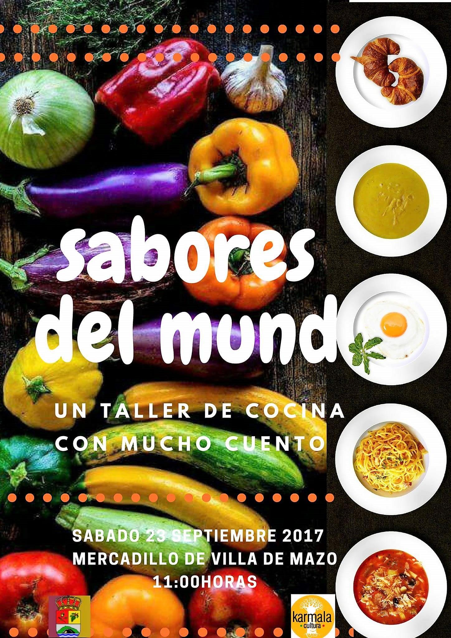 Taller De Cocina Sabores | Mazo Organiza La Actividad Sabores Del Mundo Un Taller De Cocina