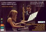Concierto de piano y saxo con Laura Gordo y Diego Arrocha en las Antiguas Salinas de Los Cancajos