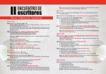 Consulta aquí todos los actos del fin de semana del 'II Encuentro de Escritores Félix Francisco Casanova'