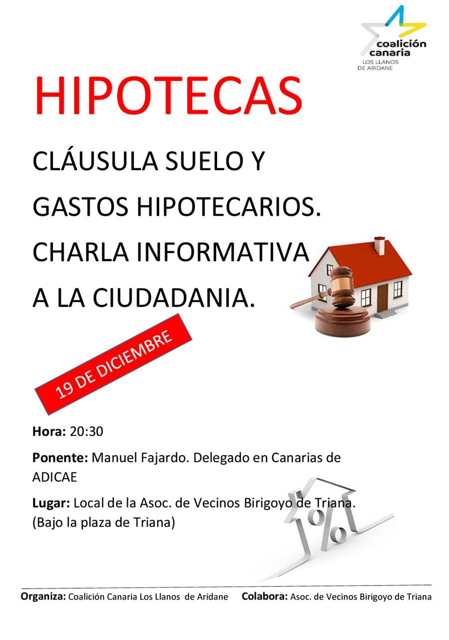 Cc En Los Llanos Organiza Una Charla Sobre La Cl Usula