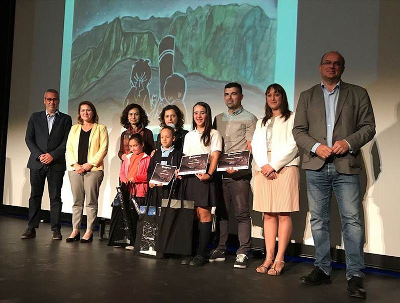 Clausura Astrofest - Ganadoras Concurso Dibujo Infantil