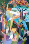 Este viernes se inaugura una exposición del pintor y escultor Peter Hermans en la Galería de Diego de Los Llanos