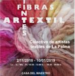 """Exposición """"Artextil. Fibras y tintes"""" en la Casa del Maestro de Tijarafe"""