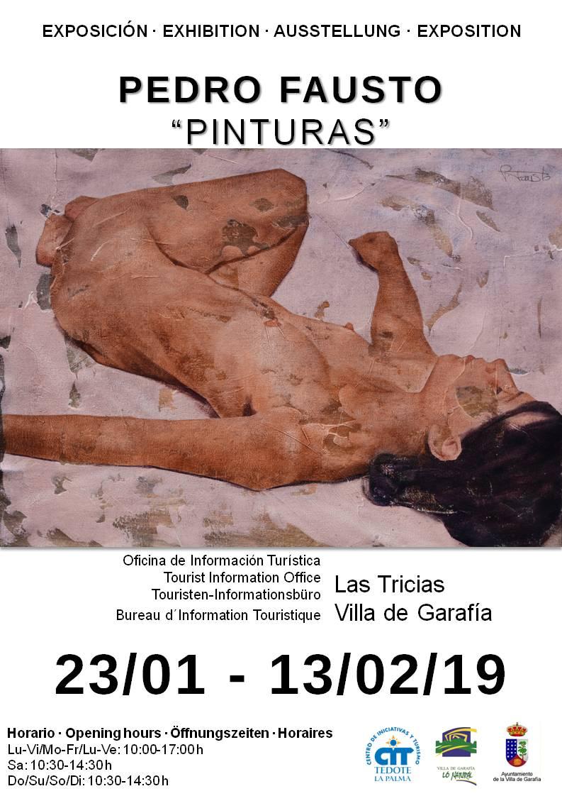 Pedro Fausto_Pinturas_Cartel_23_Enero_13_Febrero 2019