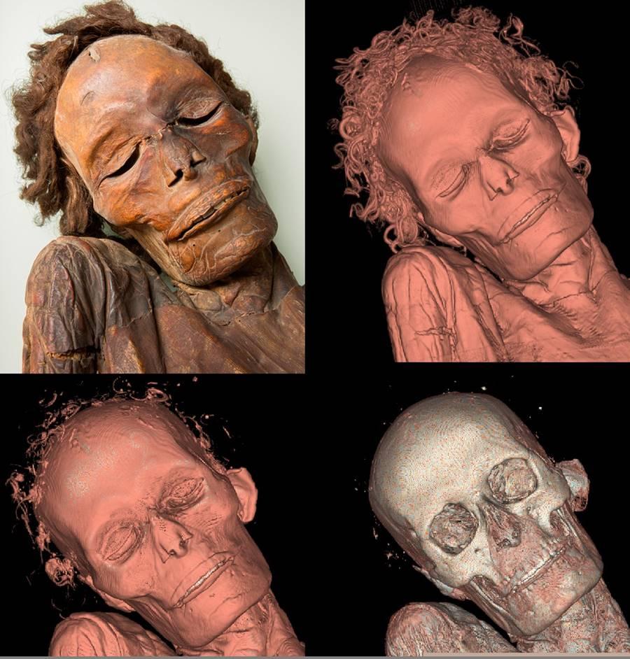 Resultado de imagen de momia guanche madrid