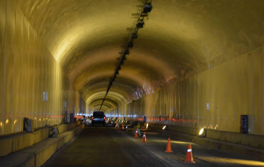 Trabajos en el túnel viejo de la cumbre 2