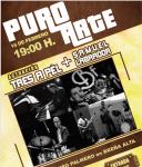 Jazz Fusion de Tres a Pèl con Samuel Labrador este sábado en Breña Alta