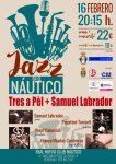 Concierto de jazz del grupo Tres a pèl + Samuel Labrador