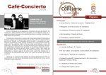 Café Concierto de clarinete y piano este sábado en la Casa Roja de Villa de Mazo