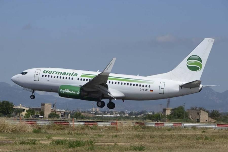 La aerolínea Germania quiebra y cancela todos sus vuelos