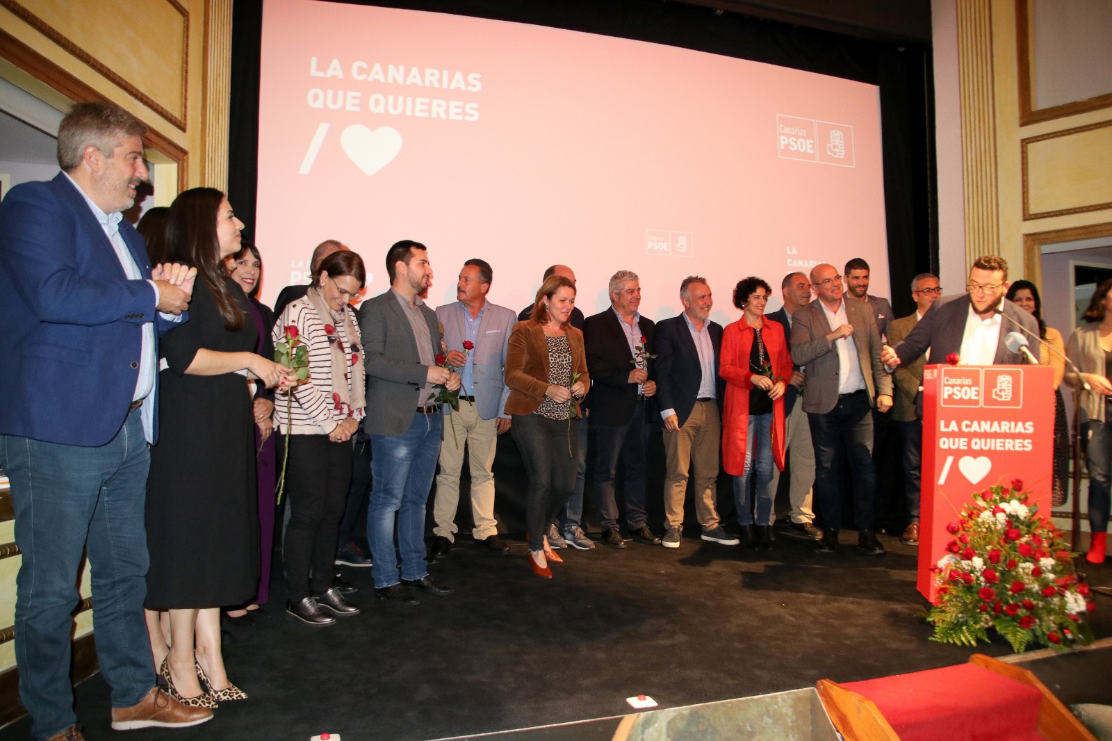 """Ángel Víctor destaca al PSOE de La Palma como baluarte de """"los principios de la izquierda"""""""