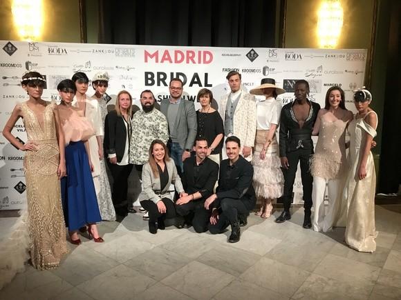f4cf0d2251 Las firmas de Isla Bonita Moda presentan sus colecciones en la pasarela  Madrid Bridal Week