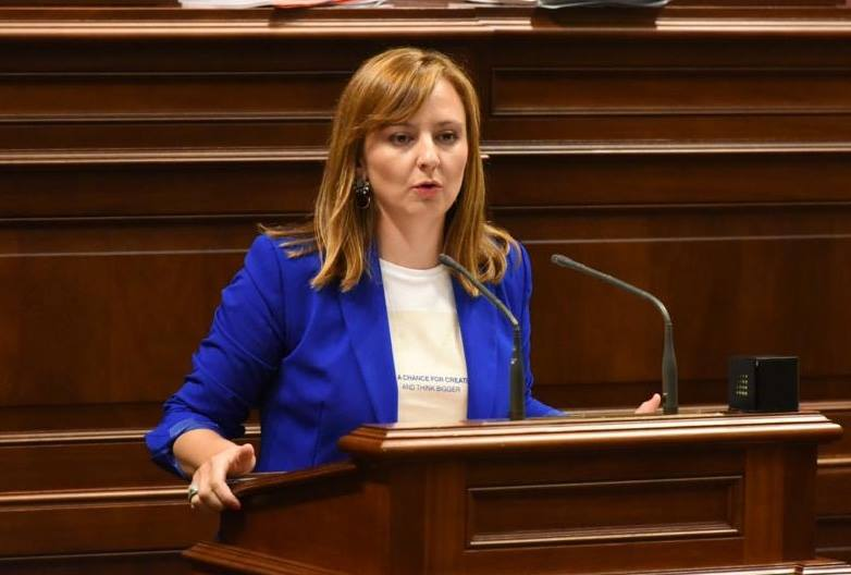 """Nieves Lady Barreto: """"Seguiremos defendiendo al plátano, que es el motor principal del sector primario en La Palma"""""""