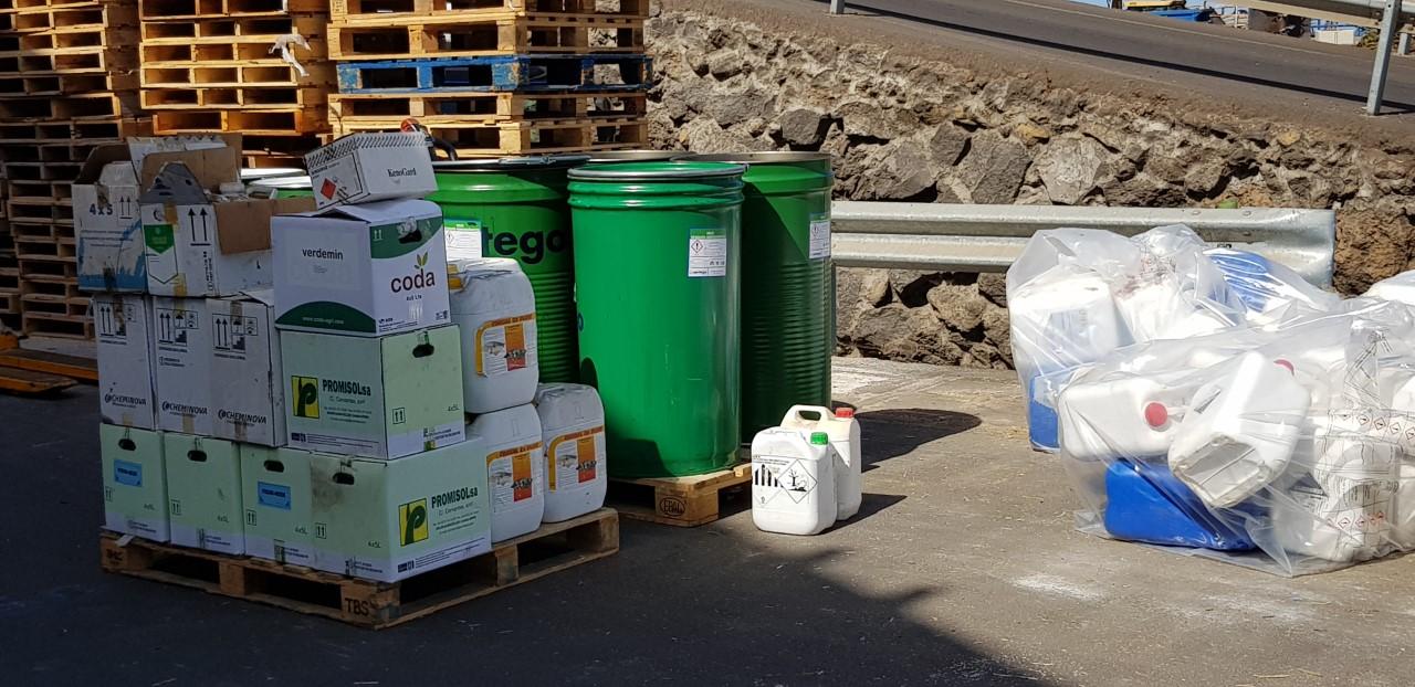 Recogida residuos LaPalma y GC 2