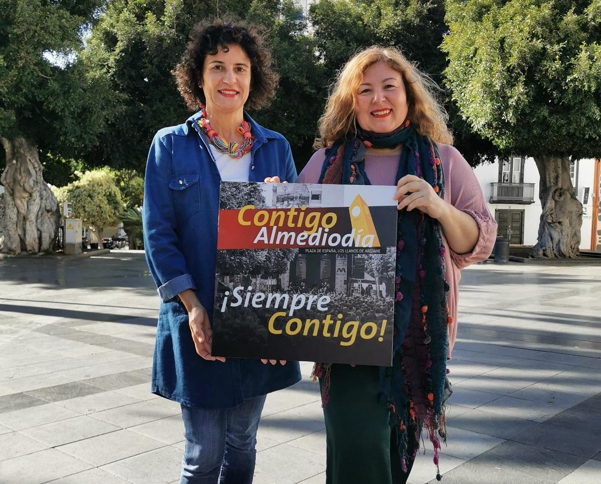 Los Llanos de Aridane organiza cuatro 'Contigo Almediodía' en la plaza de España hasta finalizar el año - elapuron.com
