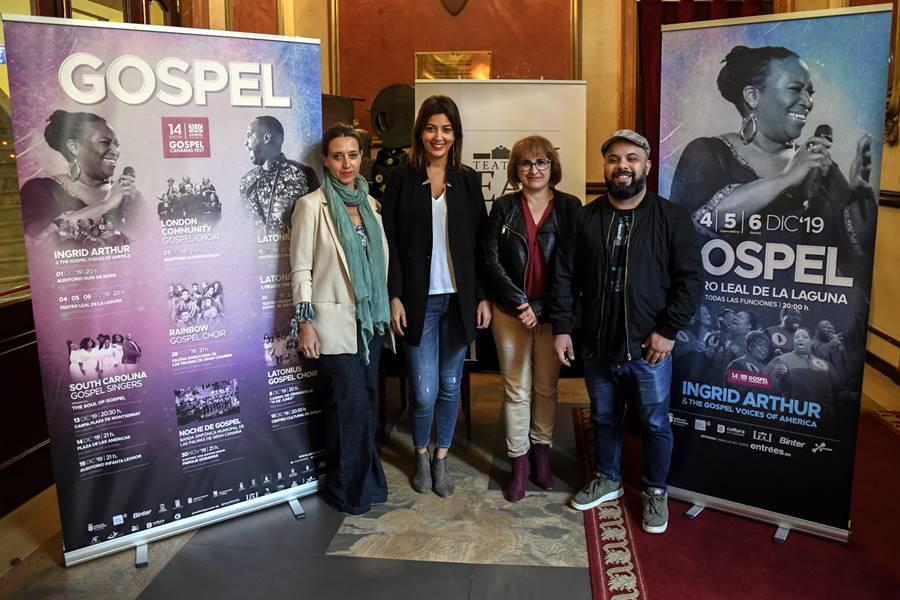 La mejor música espiritual negra llega de nuevo a Canarias en diciembre con 18 conciertos en cinco islas