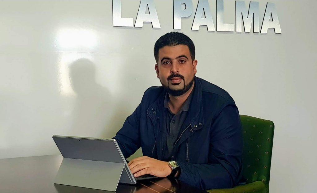 Resultado de imagen de Borja Perdomo consejero de la Palma