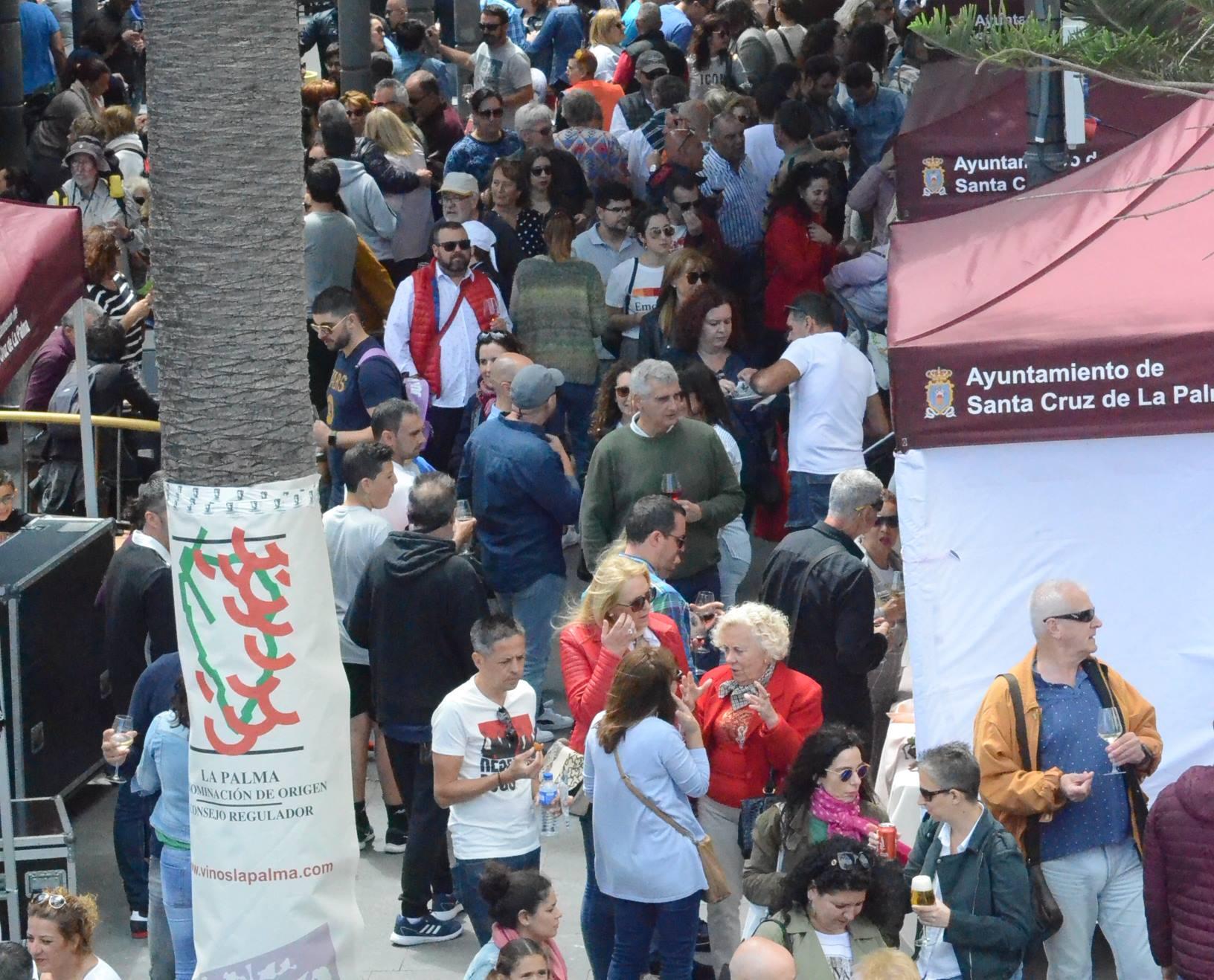 Feria del Vino en La Alameda.