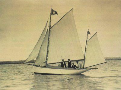 Embarcación de principios de siglo utilizada en Las Palmas de Gran Canaria que bien pudiera parecerse al `I´ll try´.