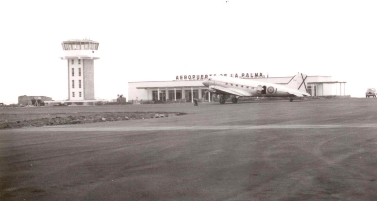 Aeropuerto 1970. Archivo MPA.