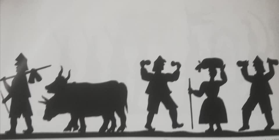 Tira de sombra chinescas (1790-1810). Editadas por Facundo Fierro, 1985.