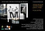 El Jazz del Mar con Javier Infante (guitarra) y Alexis Lemes (timple) este sábado en las Antiguas Salinas de Los Cancajos
