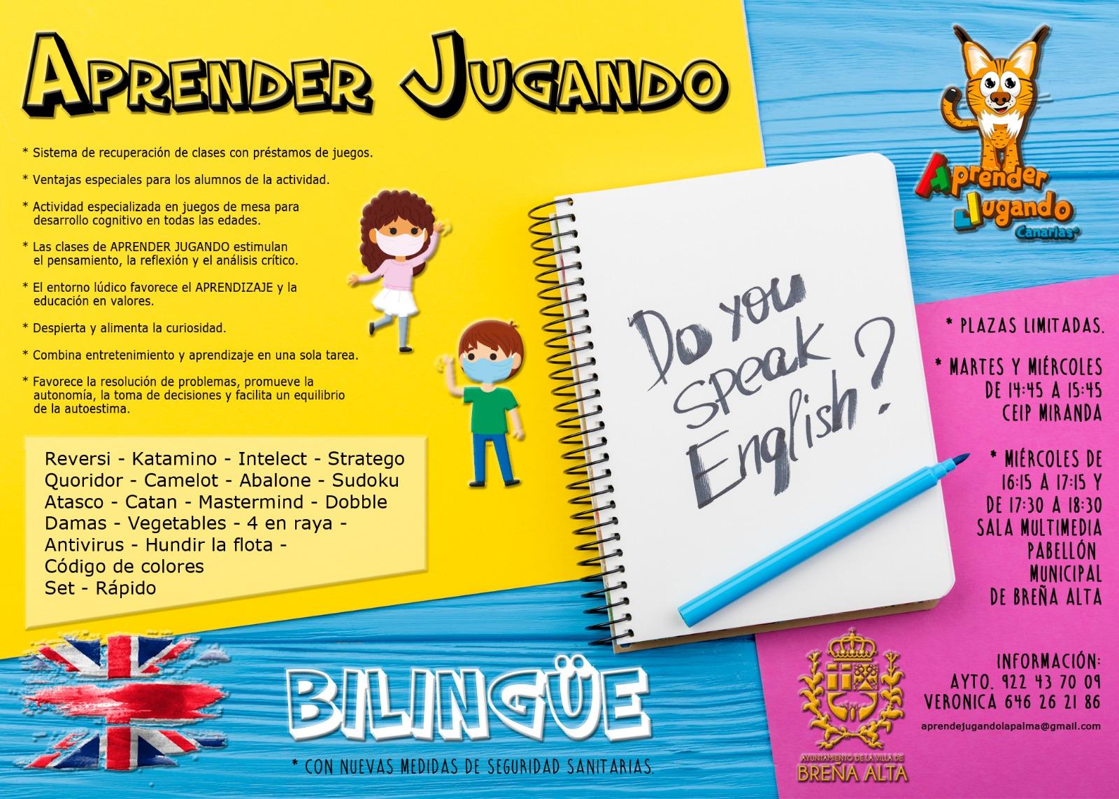 Aprender Jugando Bilingüe Breña Alta