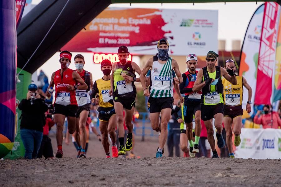 Campeonato de España de Trail Running en El Paso. Foto de Arturo Jiménez
