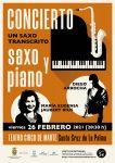 El Teatro Circo de Marte acoge este viernes el concierto 'Un saxo transcrito'