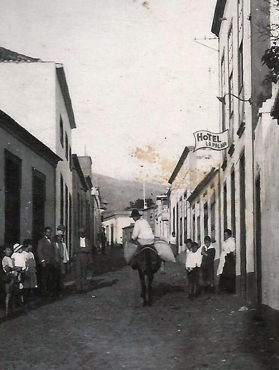 Hotel La Palma, en el se hospedó Pedro Garcia Cabrera en Los Llanos de Aridane.