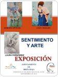 Exposición 'Sentimiento y Arte' en Breña Baja hasta el 25 de septiembre