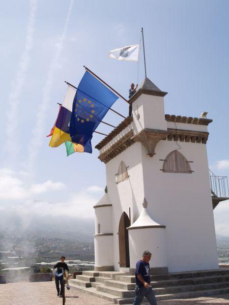 Izada de la Bandera y Pregón de la Fiesta de La Patrona