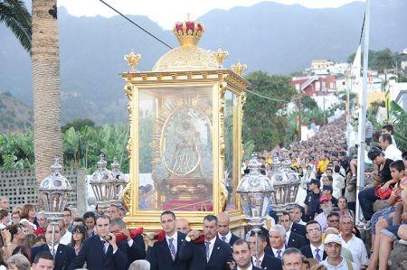 Resultado de imagen de El Cabildo de La Palma se vuelca con las Fiestas Lustrales de la Bajada de la Virgen