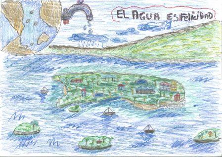Saúl Martín Del Colegio Sagrada Familia Gana El Concurso De Dibujo